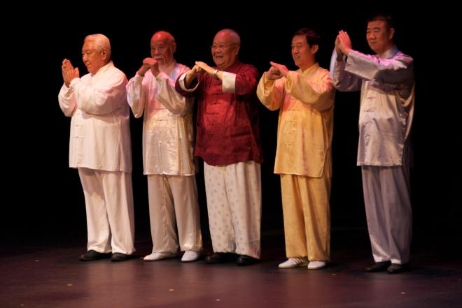 Master Ma Hailong, Master Wu Wenhan, Master Yang Zhenduo, Master Chen Zhenglei, Master Sun Yongtian